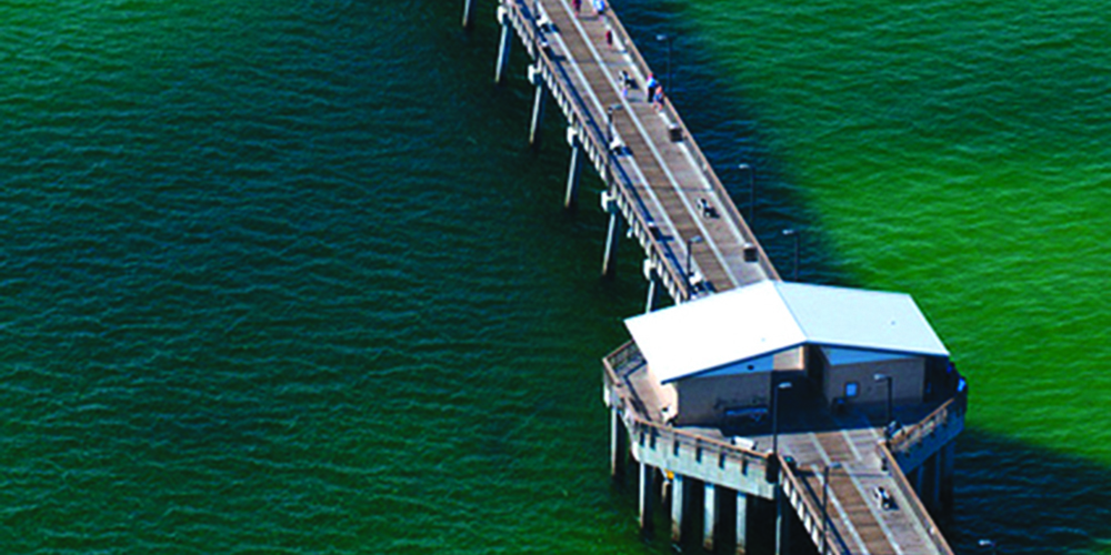 Gulf State Park Fishing Pier In GULF SHORES, AL