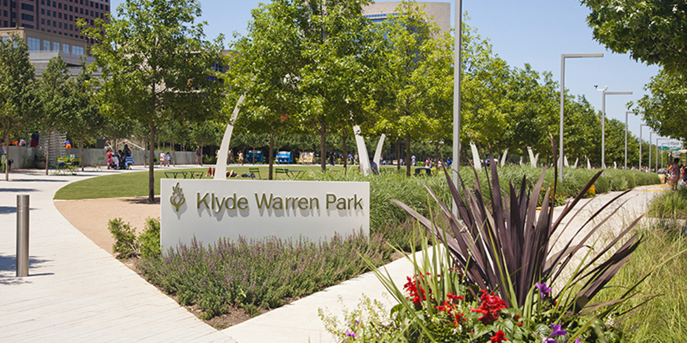 Klyde Warren Park IN Dallas, TX