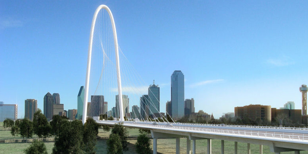 Margaret Hunt Hill Bridge IN DALLAS, TX