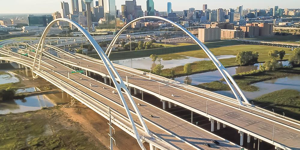 Margaret McDermott Bridge IN DALLAS, TX