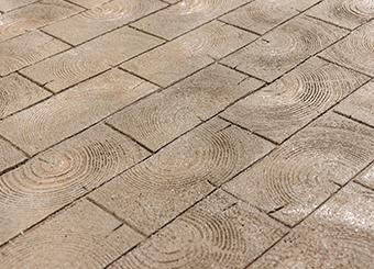 Wood Paver Cobble