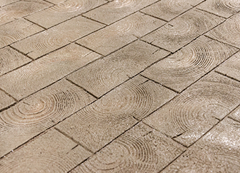 Wood Paver Running Bond